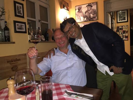 Toscanino: geselliges Beisammensein anlässlich einer Geburtstagseinladung