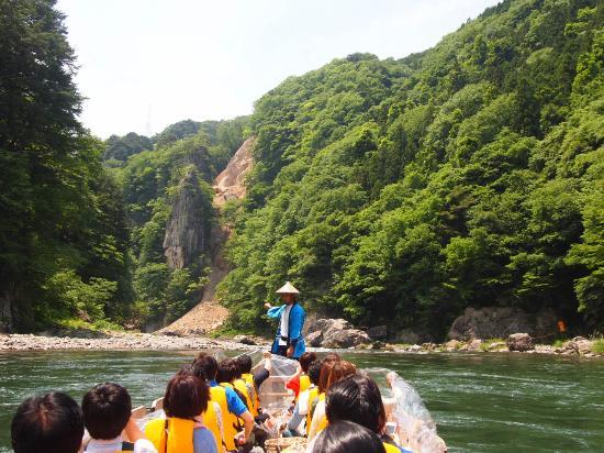 Kinugawa River Boat: 船頭さん