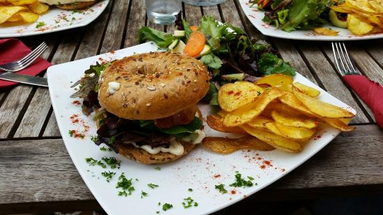 Cafe/Bar/Restaurant Grossstadt : Bagel Burger!