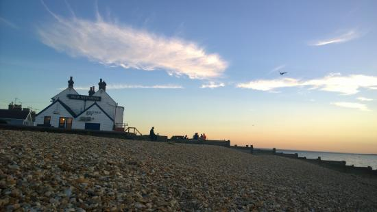 Sundown at The Old Neptune