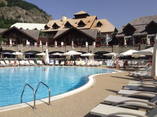 vue piscine picture of club med serre chevalier
