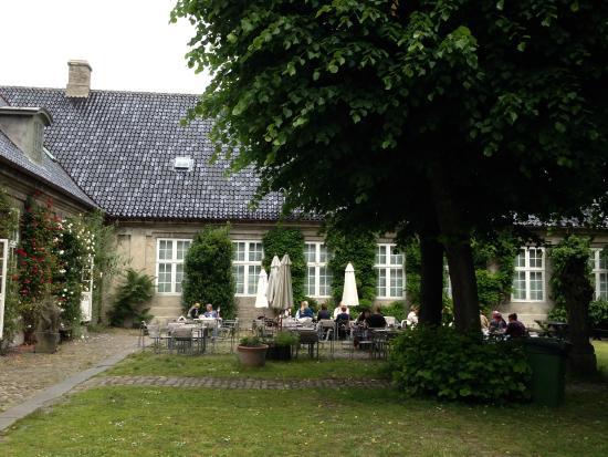 garden cafe picture of designmuseum danmark copenhagen tripadvisor. Black Bedroom Furniture Sets. Home Design Ideas