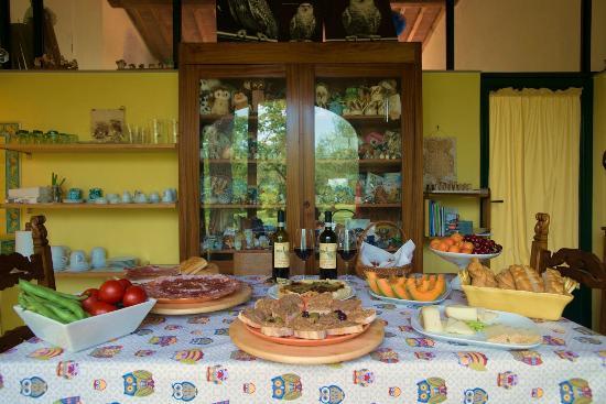 Le Civette Country Resort: Genuin Tuscan taste selection