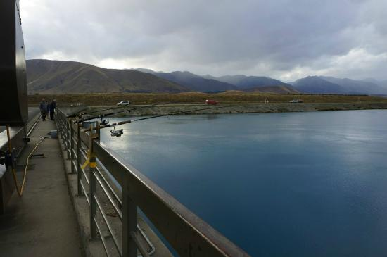 Twizel, Nueva Zelanda: The hydroelectric station.
