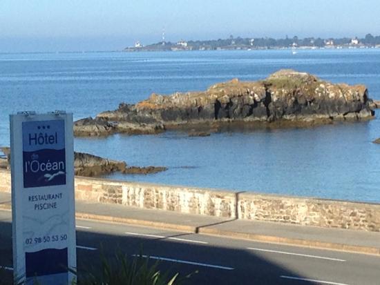 Hotel Restaurant de l'Ocean: vue de la terrasse