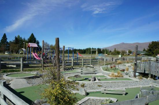 Twizel, Nueva Zelanda: Mini golf.