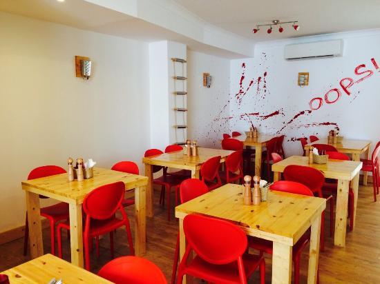 Shows Im Pasta Restaurant in St Julians Malta