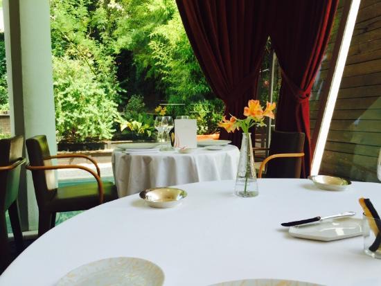 Royale de foie gras photo de le jardin des sens for Le jardin des sens