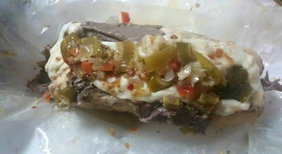 Chi-Town Pizza: italian beef