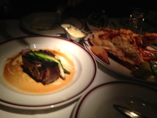 Chops Lobster Bar Delicious Meal