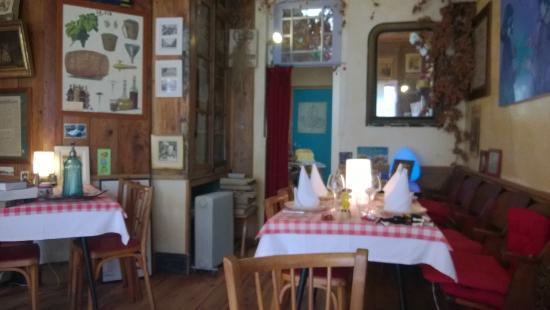 Restaurant Chez Tante Fauvette: vue depuis ma table