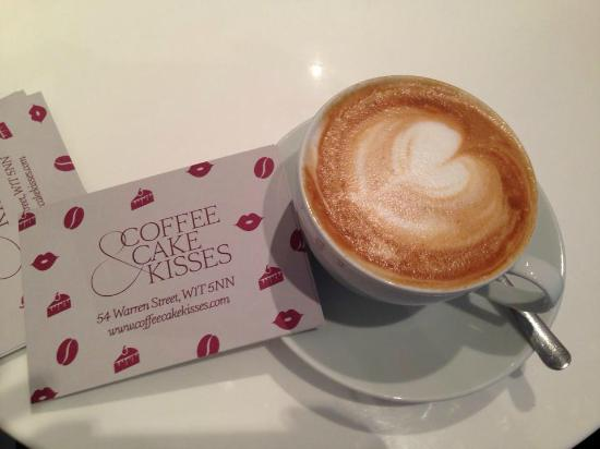 soya chino picture of coffee cake kisses london. Black Bedroom Furniture Sets. Home Design Ideas