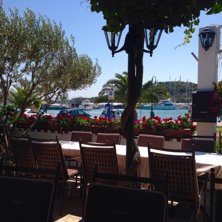Restaurant Siesta : View from our table