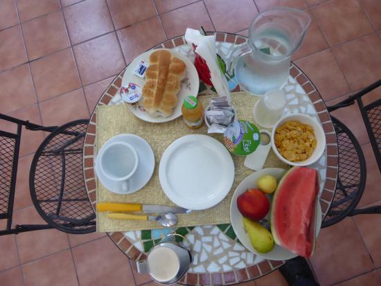 B&B Angel's House: My lovely breakfast.