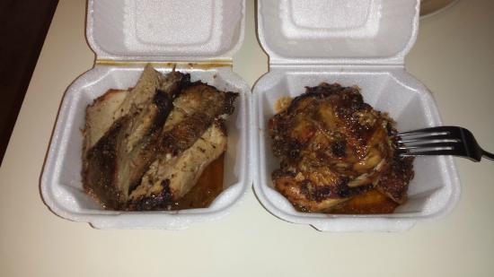 Brookfield, CT: Jerk Pork and Jerk Chicken