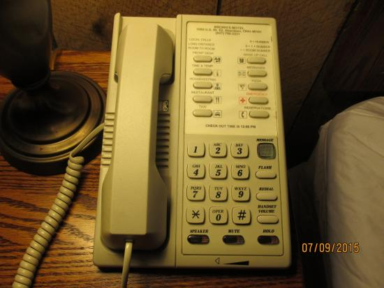 Aberdeen, OH: Love the  old telephones