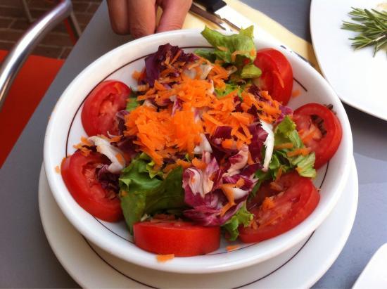 Le Terrazze: Salada mista