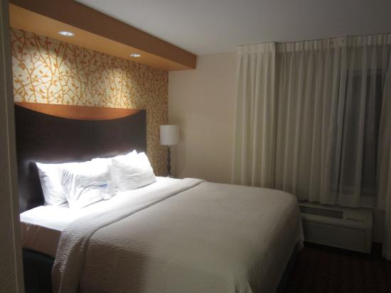 Fairfield Inn & Suites Asheboro: Clinical tones