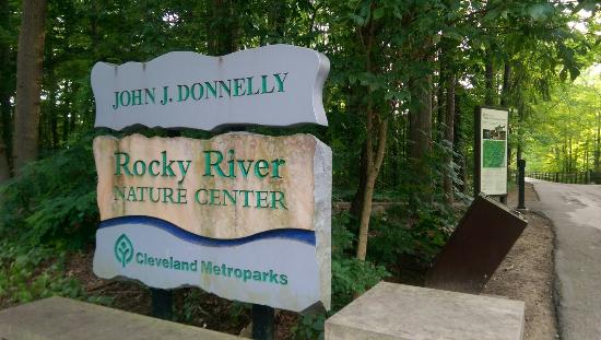 Rocky River Reservation: Rocky river nature center.