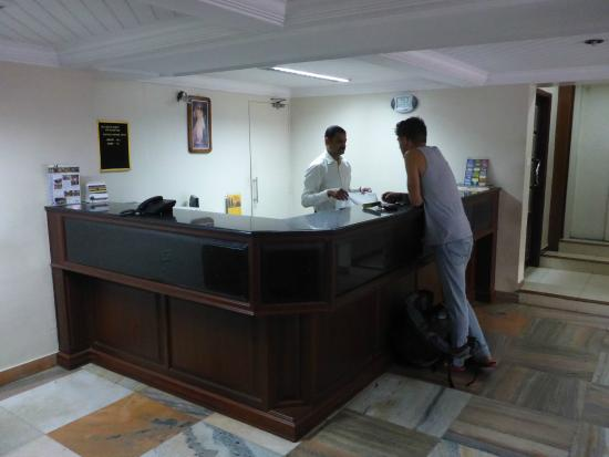 Bijus Tourist Home: Front desk