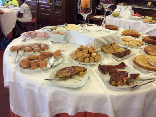 Hotel Pazo O'Rial: Breakfast
