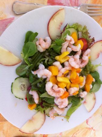 Hôtel-Restaurant de la Plage: Salade estivale