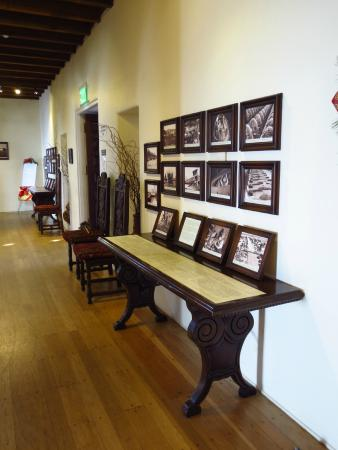 San Clemente, CA: Hallway with archival photos