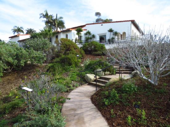 San Clemente, CA: Looking at the casa from the garden