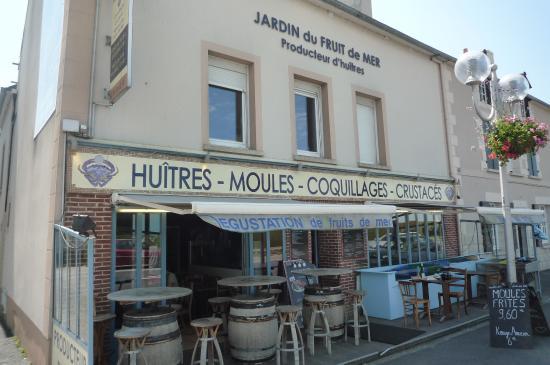 Saint-Benoit-des-Ondes, Francja: voilà l'endroit pour un beau plateau de fruits de mer