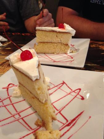 Aguaymaynto Grill: Tres leches