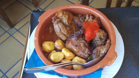 Restaurante Casa Pepe: Cordero guisau