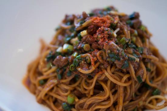 Chinese Dining Tengaiten: 汁なし担々麺