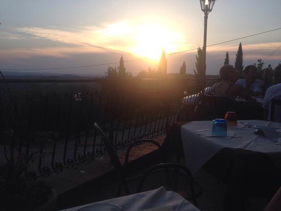 Montespertoli, İtalya: Vista panoramica