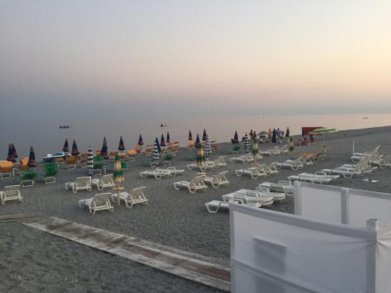 Condofuri Marina, Italie: Tramonto sul lido