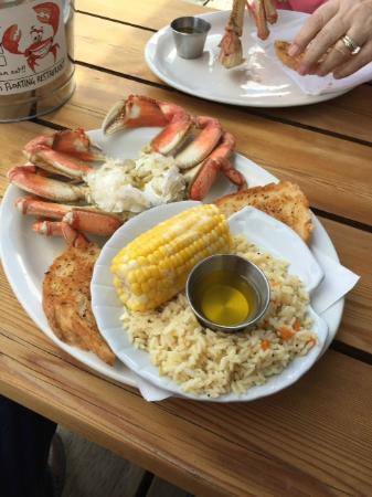 So fresh crab