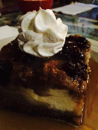 Ponds : Croissant Cream Cheese Bread Pudding