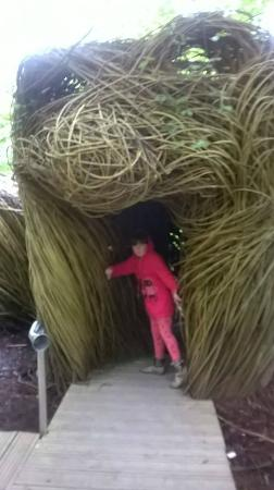 Ring of Gullion: Enterance to the secret play area