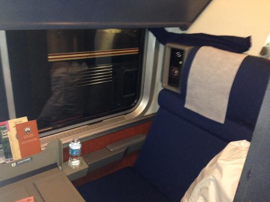 Amtrak Roomette On Texas Eagle Picture Of Union Station Chicago TripAdvisor