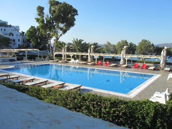 Lagada Beach Hotel Milos Greece