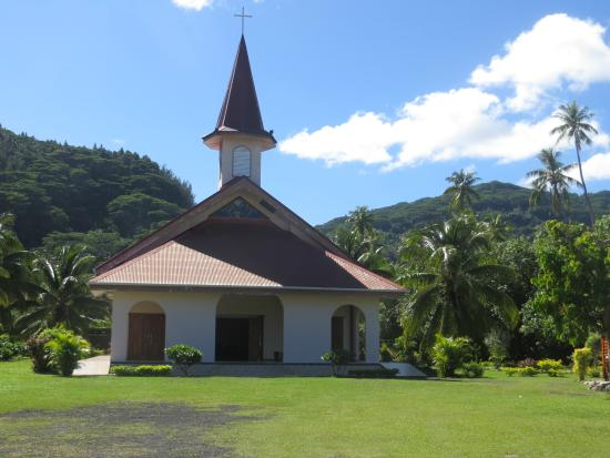 Fare, in Huahine, FP