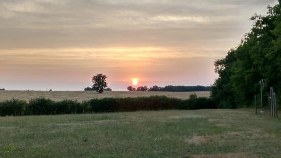 Naussannes, Francja: Sunset over le Couderc