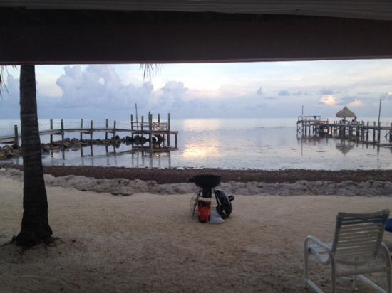 White Sands Inn: View from our door