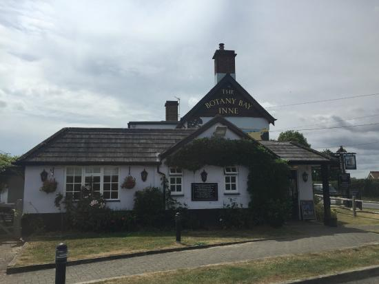 Winterborne Zelston, UK: The pub itself