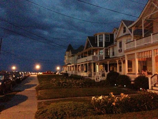 Ocean Grove Beach: nice neighborhoods near the beach