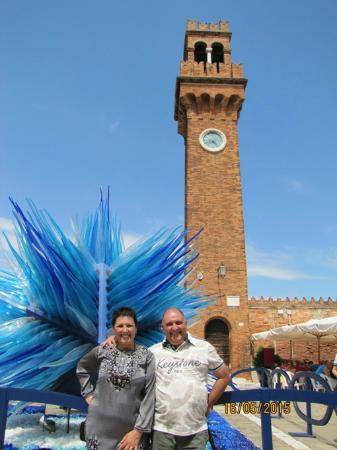 Torre dell'Orologio di Murano in Campo Santo Stefano