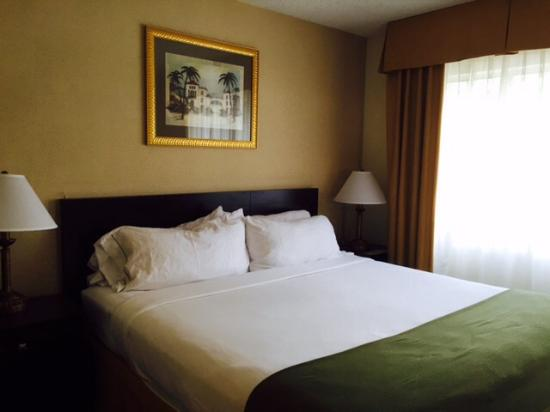 Holiday Inn Express & Suites Bradenton West: King size bed