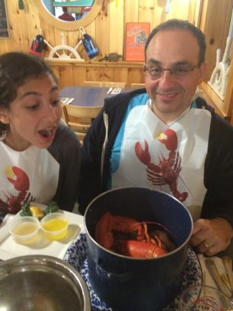 Union River Lobster Pot: When your teenager is happy and impressed I think you should definitely visit!!!