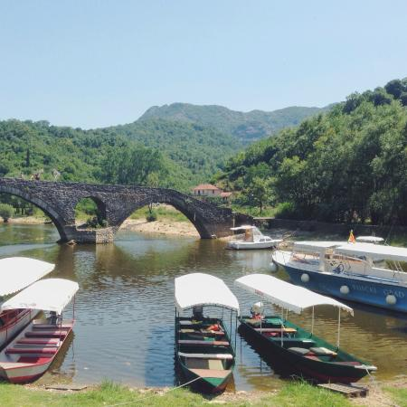 Stari Most: on the river bank
