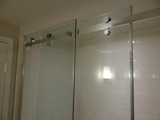 delta hotels by marriott montreal fancy gliding shower doors - Delta Shower Doors
