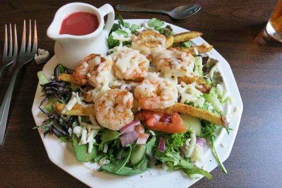 Alexandria, PA: Shrimp salad. YUM!